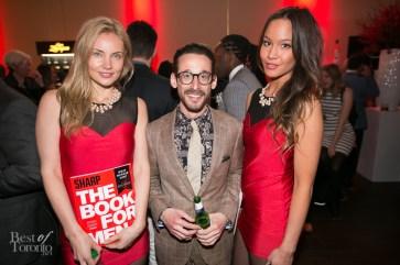 Jeremy Freed, editor of Sharp Magazine