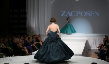Even the back of Coco Rocha's dress is stunning