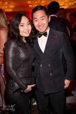 I love this stylish duo: Amarsana Gendunova, Lance Chung