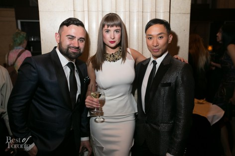 Designers of Christopher Paunil Designs and guest