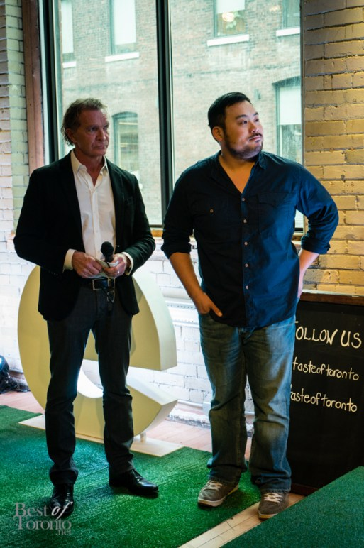 Mark McEwan, David Chang