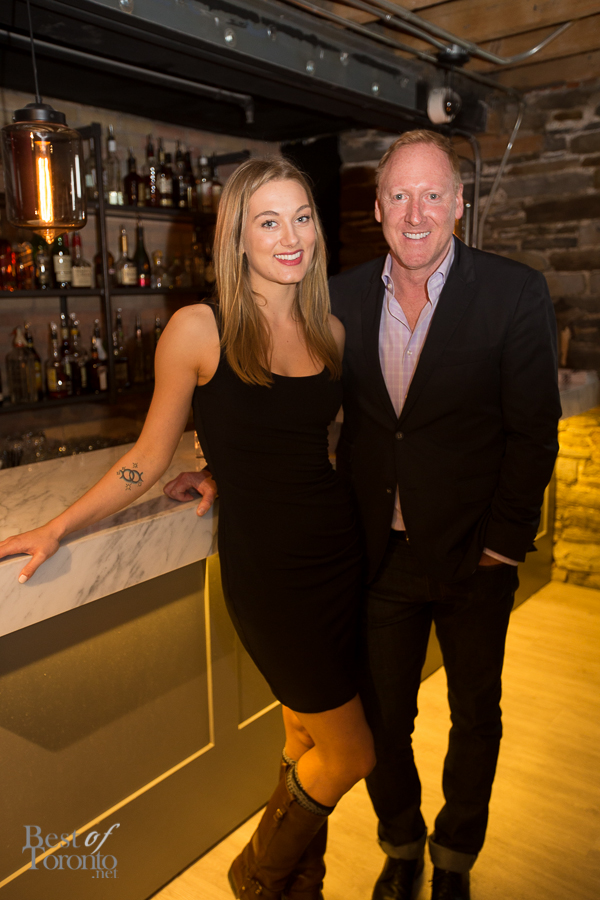 Nicole and Glen Baxter