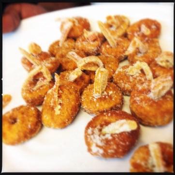Pumpkin Fritters | Photo: Nellie Chen