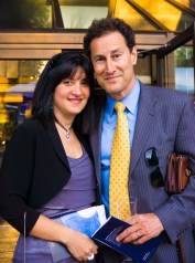 RL: Steve Paikin and Fracesca Grosso