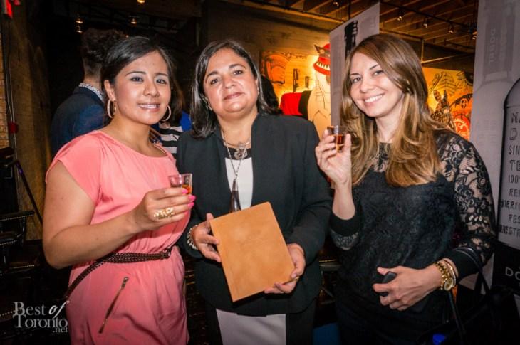Jose Cuervo tequila expert, Sonia Espinola de la Llave, describing the history of tequila
