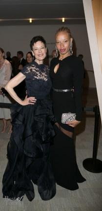 Karen Kain (Artistic Director of the National Ballet of Canada), Stacey McKenzie, model