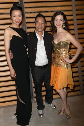 Principal dancers Xiao Nan Yu and Jililan Vanstone with Sunny Fong (VAWK)