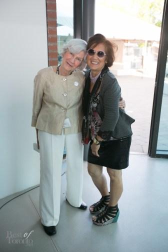 Power Ball volunteers: Helen Crispin and Elnora