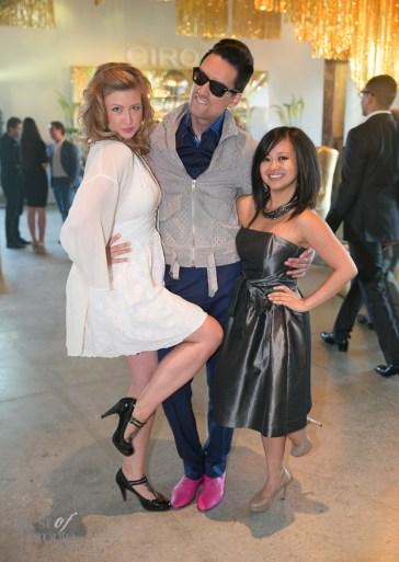 Catherine Sugrue, Julio Reyes, Amira de Vera | Photo: Nick Lee