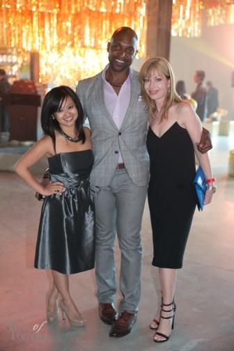 Amira de Vera, Kevin Pennant, Cynthia Mulligan | Photo: Nick Lee