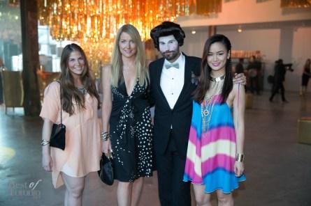 Demi Sacks, Alison Slight, Laurent Fort, Candice Chan | Photo: Nick Lee