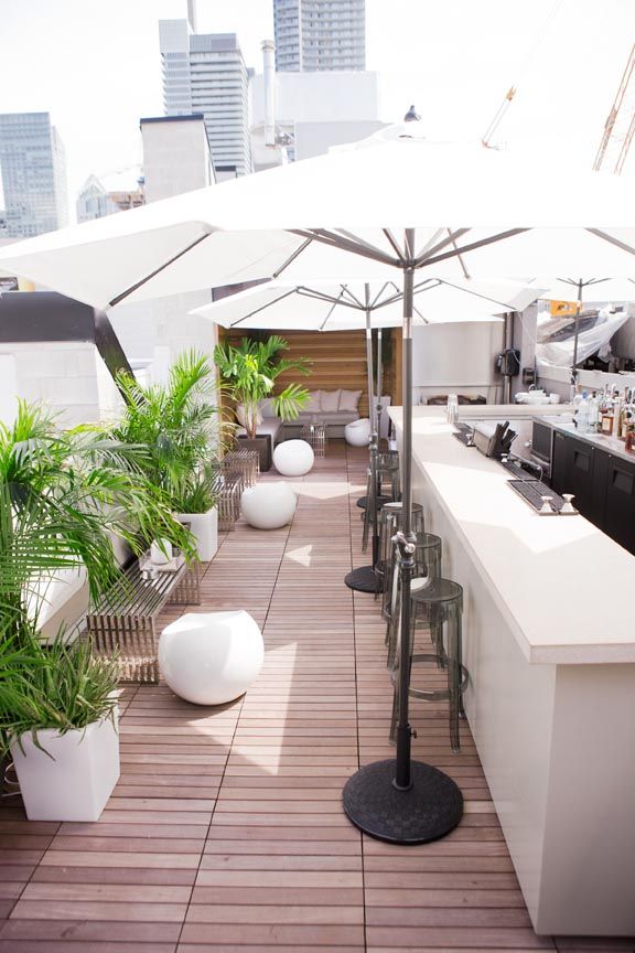 Rooftop Patio | Photo courtesy of the Beverley Hotel