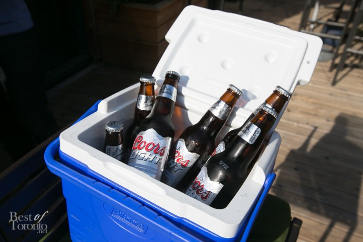 You can order a cooler of Coors Light