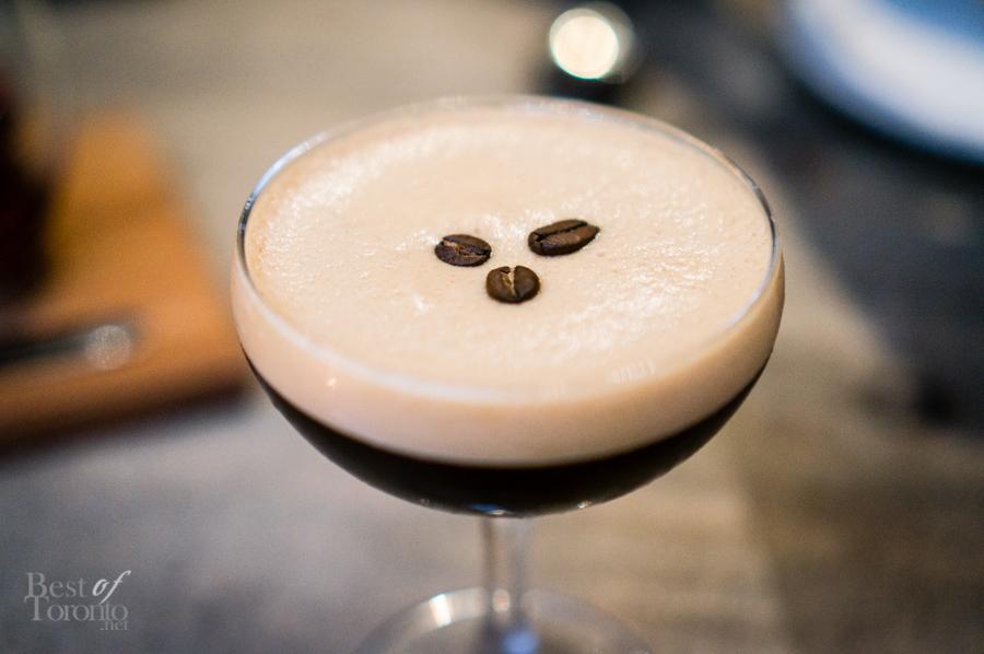 Mr. Belvedere (dessert cocktail)