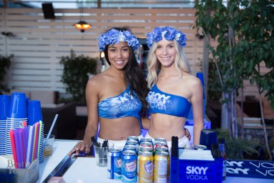 Skyy Vodka at Rock Star Hotel
