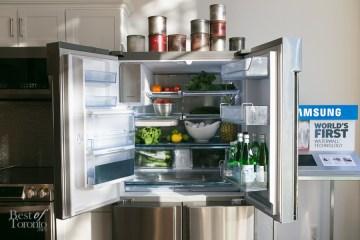 Samsung Ultra-High Capacity 4-Door French Door Chef Collection Refrigerator