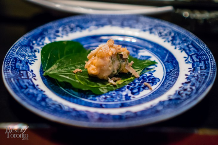 Smoked Trout Betel Leaves