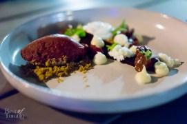 Cherry Dessert - Cherries, Graham Cracker, White Chocolate, Buffalo Ricotta