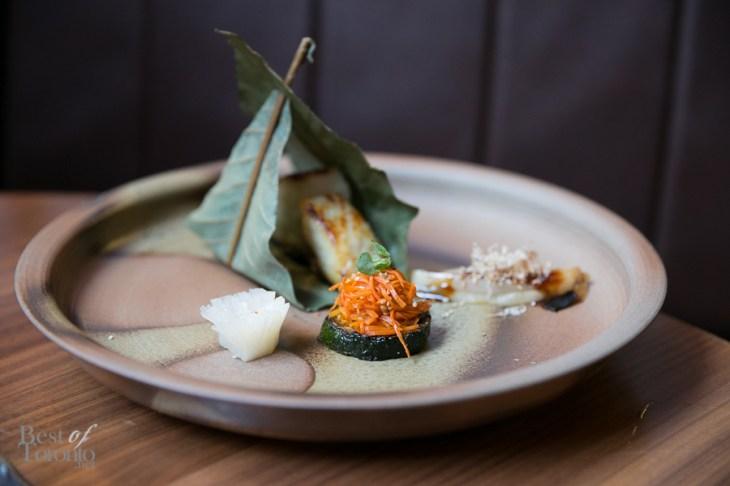 Black cod with glazed miso