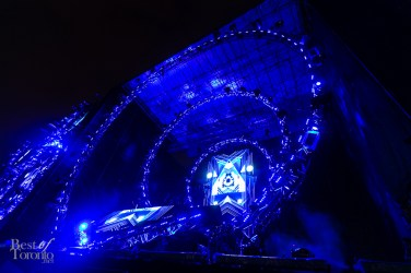 Calvin Harris at the main stage