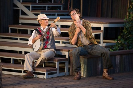 Sean Dixon and James Graham in As You Like It| Photo: David Hou