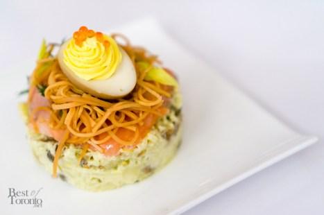 BC Trout Salad | Photo: John Tan