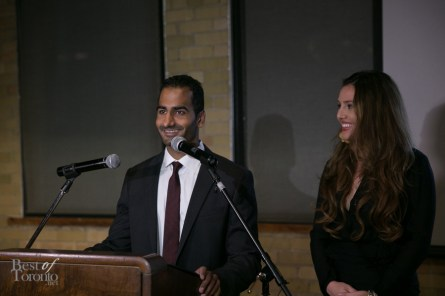 Amit Thakar and Brittney Kuczynski announce the launch of the Canadian Fashion Fund