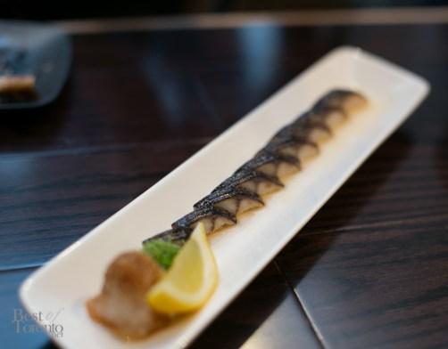 Torched mackerel sashimi | Photo: Nick Lee