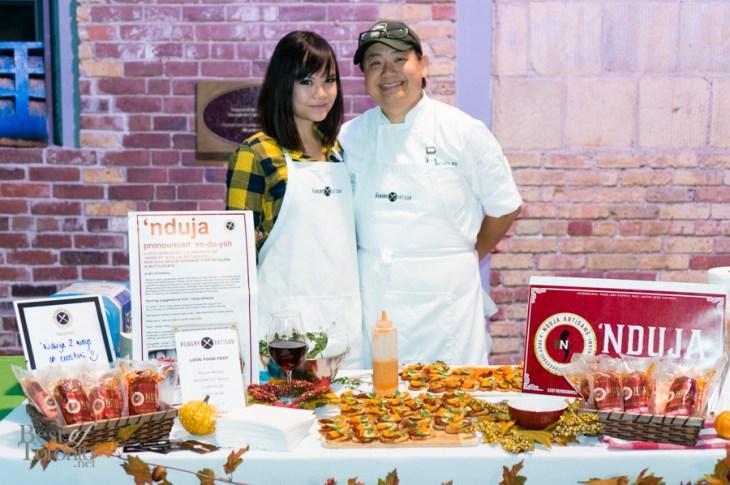 Stella Yu and Nicholas Wong from The Hungry Artisan