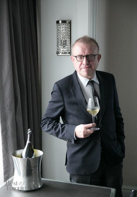 Dom Pérignon's Chef de Cave since 1990, Richard Geoffroy   Photo: Nick Lee