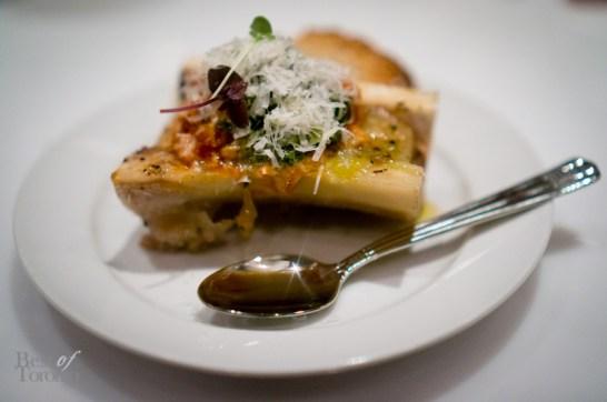 Bar Buca | Smoked bone marrow, lampredotto, agliata