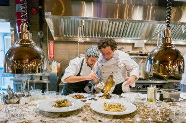 Chef Luca Stracquadanio (right) | Photo: John Tan