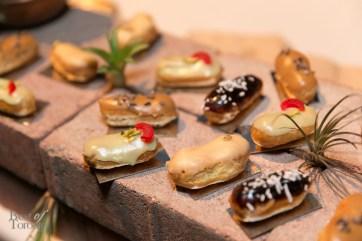 Assorted Eclairs (Pistachio Cherry, Banana Nutella, Coffee 7 Cocoa Nibs, Vanilla ORange, Dulce de Leche, Pumpkin Pie) by The Tempered Room