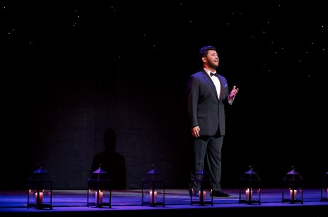 Toronto's own Charles Sy (tenor) performing at the COC Centre Stage | Photo: Michael Cooper