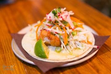 Baja Fish Taco   Photo: Nick Lee