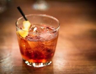 """""""BUONA NEGRONI"""" Bombay Sapphire Gin, Antica Formula and Campari"""