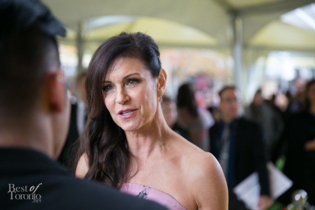 Wendy Crewson, 2014 CWOF Yellow Carpet presenter