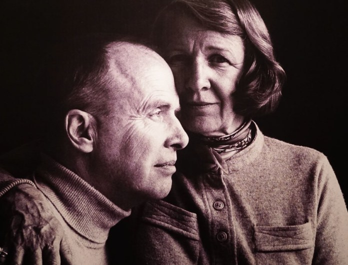Photograph of Alex Colville and wife Rhoda Wright