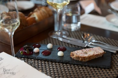 Guinea Fowl Terrine - preserved laroda plum, country bread