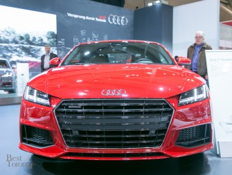 Audi TT Roadster. Expected to launch in Summer 2015