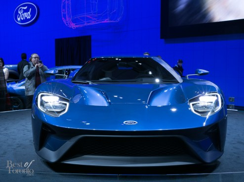 The all new Ford GT will be built in Markham, ON