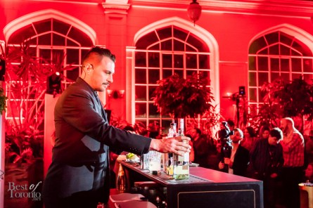Montreal finalist Drahos Chytry   Cocktail: Bayamo