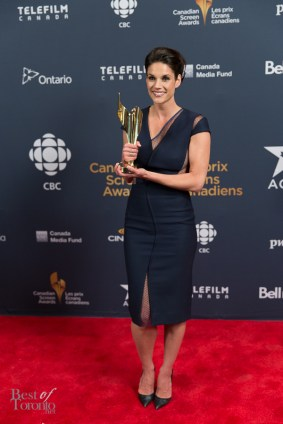 Missy Peregrym (Rookie Blue), Golden Screen Award for TV Drama/Comedy