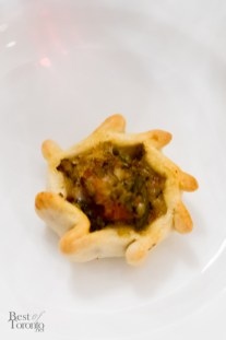Roasted vegetable empanada