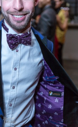 James Temple (best dressed) matches his bow tie with his lining.