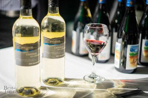 Selection of wines | Château des Charmes