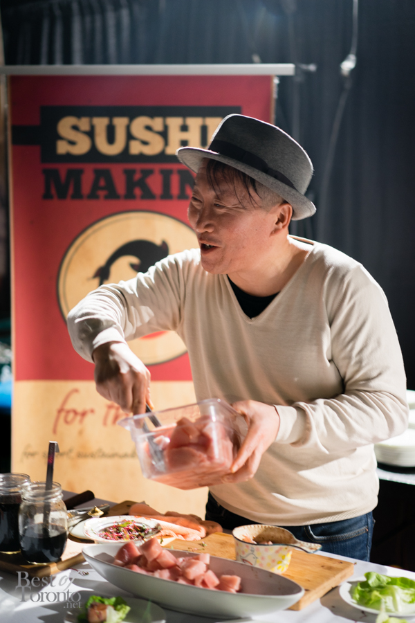 Chef Sang Kim | Sushi Making for the Soul