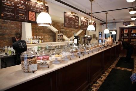 Interior of Balzac's Coffee | Photo courtesy of Balzac's Coffee