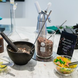 Ice cream topping station