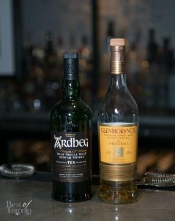 Ardbeg and Glenmorangie